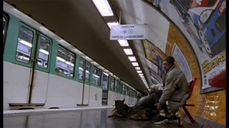 Scene from the film Jean-Claude