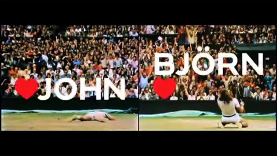 Bjorn Borg - Bjorn Loves John campaign