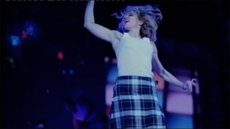 Scotland from Madonna – I´m going to tell you a secret