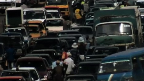 Lagos, scene from the film The Planet
