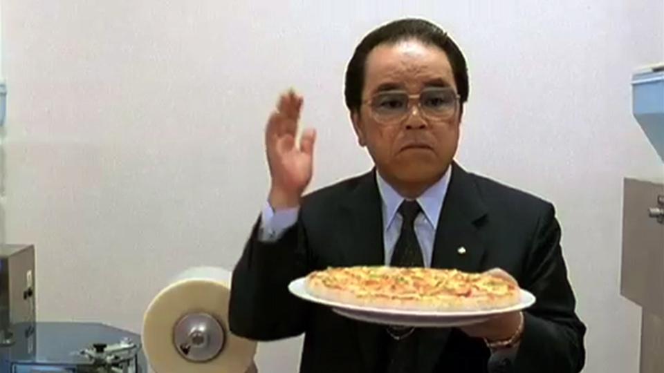 Sushipizza, scene from the film Tokyo Noise